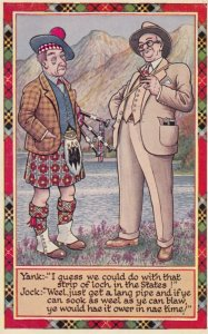 US Man & Scotsman Comic , 1930-40s