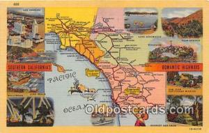USA Postcard Post Card Southern California