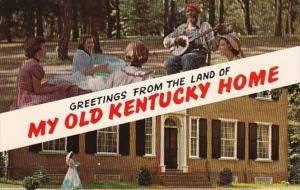 Kentucky Greetings From The Land Of My Old Kentucky Home