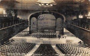 LP84 Valparaiso Indiana Postcard RP Auditorium Interior