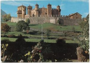 Castelli Valdostani, FENIS, Sec. XIII, unused Postcard