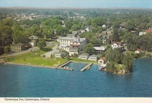 Aerial View, Gananoque Inn, GANANOQUE, Ontario, Canada, 50-80´s