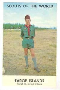 Faroe Islands Boy Scout, 1968