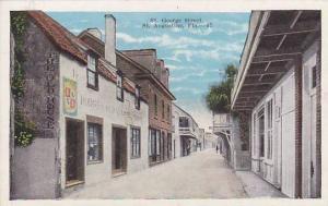St. George Street, St. Augustine, Florida, 1910-1920s