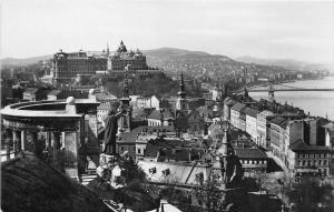 B36210 Budapest view of the mount Gellert   hungary