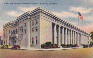 Arkansas Little Rock Albert Pike Memorial Temple 1945