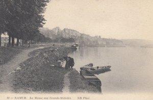 NAMUR, Belgium, 1900-1910's; La Meuse aux Grands-Malades