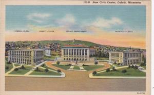 Minnesota Duluth New Civic Center Curteich