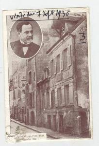 Souvenir De La Maison Natale, Ici Est Ne Louis Pasteur, Dole (Jura), France, ...