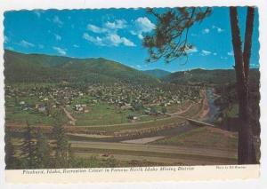 Recreation Center In Famous North Idaho Mining District, Pinehurst, Idaho, 19...