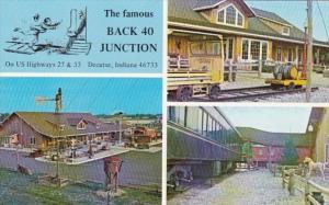 Indiana Decatur Back 40 Junction Restaurant 1980