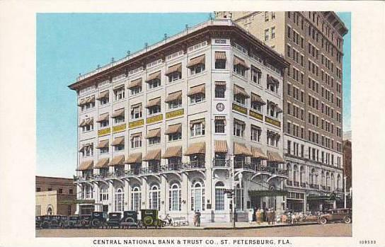 Central National Bank & Trust Co., St. Petersburg, Florida, 1900-1910s