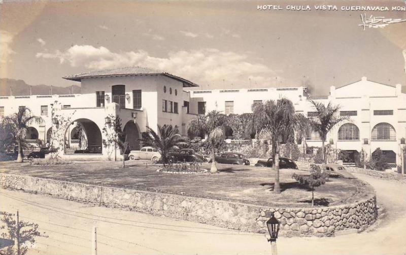 RP: CUERNAVACA , Mor. , Mexico , 30-40s ; Entrance to Hotel Chula Vista