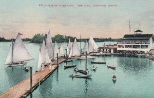 PORTLAND, Oregon, 1900-1910s; Oregon Yacht Club, The Oaks