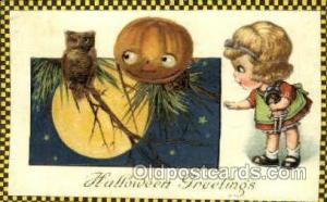Artist Jason Freixas & Samual Schmucker Halloween Postcard Postcards