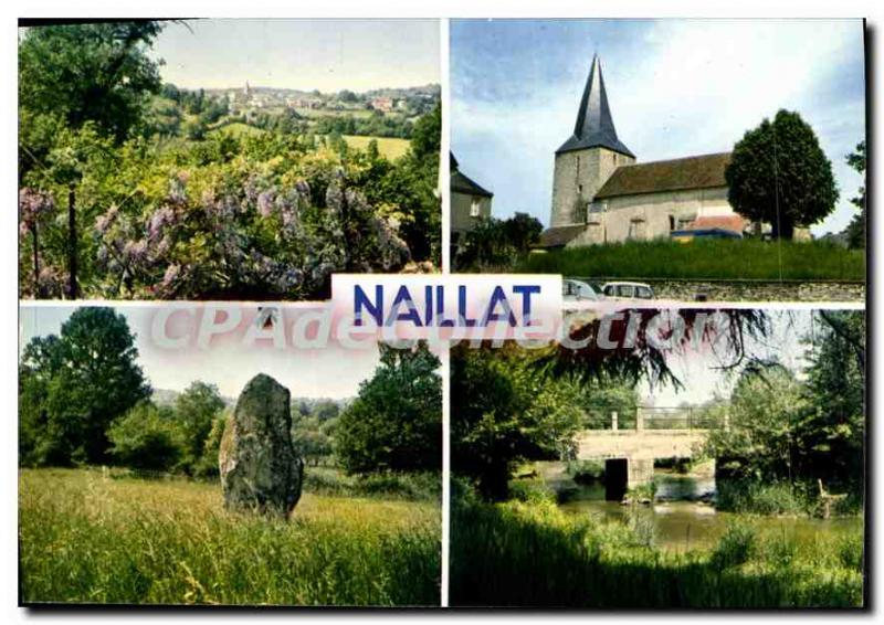 Postcard Modern NAILLAT