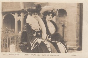 RP ; THEATRE ; Stbil & Gaynor Rowlands , 1904