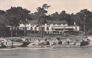 Del Monte Lodge, Pebble Beach, California,  Early Postcard, Unused