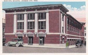JOHNSON CITY, Tennessee, 1910-1920s; Municipal Building