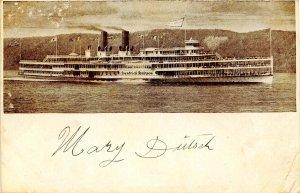Hudson River Day Line - SS Hendrick Hudson
