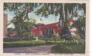 Mississippi Bay Saint Louis Chapel Saint Augustine's Seminary Curteich