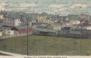 LAUREL , Mississippi, 1909 ; Looking North
