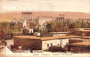 Bekaa Valley Balbek, Lebanon , Carte Postale 1913