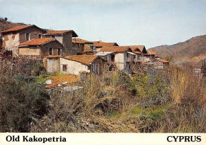 Cyprus The Old Village of Kakopetria General view