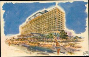 egypt, CAIRO, Nile Hilton Hotel (1964)