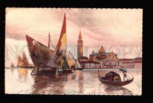 031410 ITALY Venice S.Giorgio isl. Vintage color PC