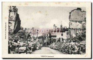 Verdun Old Postcard Bombard