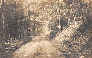 Northfield Massachusetts Lovers Lane Scenic Real Photo Antique Postcard K19665