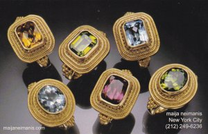 Advertising Maija Neimanis Jewelers New York City