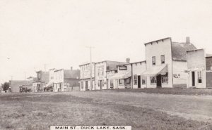 RP: Main Street , DUCK LAKE , Saskatchewan , Canada , 00-10s