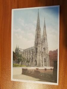 St. Patrick's Cathedral, New York Detroit Publishing Company Phostint 6891