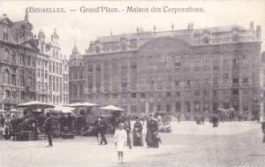 Grand'Place, Maison Des Corporations, Bruxelles, Belgium, 1900-1910s
