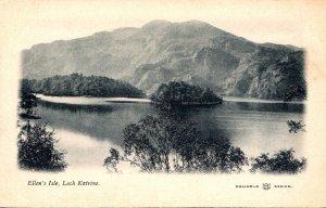 Scotland Loch Katrine Ellen's Isle