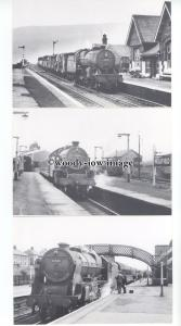 ry1388 - Settle & Carlisle Line - 6 Railway Postcards & Information Folder