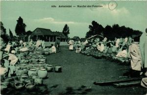 CPA Antsirane- Marche des Poteries MADAGASCAR (819997)