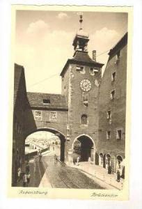 RP  Regensburg, Germany, Bruckentor 20-40s