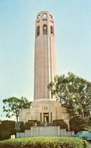 CA - San Francisco, Pioneer Park, Coit Memorial Tower