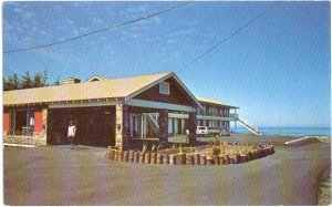 The Fireside Motel at Yachats, Oregon OR, Star Route North, Chrome