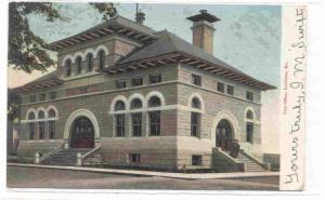 Post Office, Lewiston, Maine PU-1905