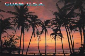 Guam Beautiful Ocean Sunset
