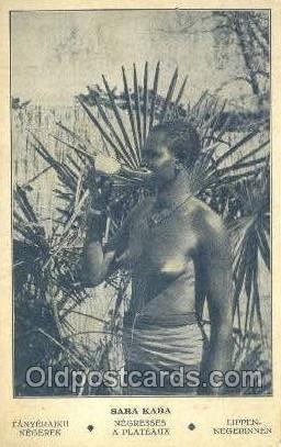 Sara Kaba African Nude Unused light wear, writing on back