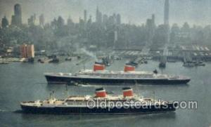 SS United States and SS America Ship, Ships, Ocean Liners, Steamers Postcard ...