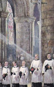 HEREFORDSHIRE, England, 1900-1910s; Hereford Cathedral, Altar Boys, TUCK No. ...