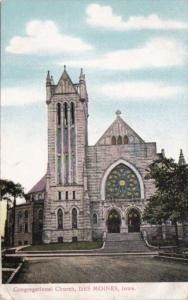 Church Congregational Church Des Mopines Iowa