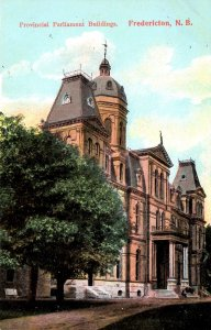 New Brunswick, Canada - The Provincial Parliament Buildings - c1908