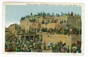 Albuquerque, New Mexico to Bronx, New York, 1941, Pueblo Religious Festival